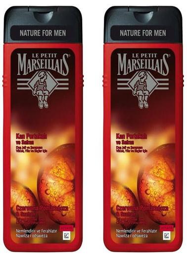 Le Petit Marseilials Le Petit Marseillais Duş Jeli Men Kan Portakalı ve Safran 400 ml Renksiz